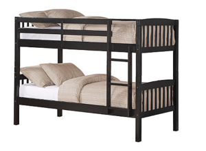Essential Home Belmont Twin Bunk Bed