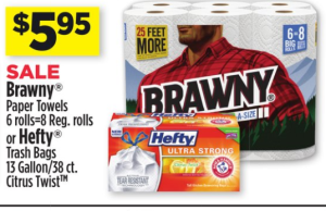 Dollar General: Hefty Trash Bags ONLY$3.95