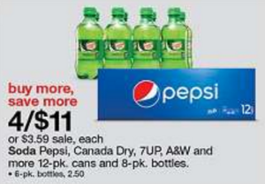 Target: Pepsi Products 12 Packs As Low As $0.68 Each