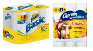 charmin essentials bounty basic