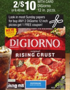 CVS: Large Digiorno Pizzas ONLY $1.66