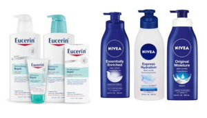 Nivea & Eucerin Body Lotion coupon