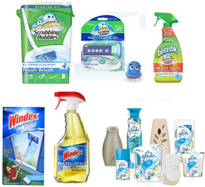 New High Value Scrubbing Bubbles Coupon + Windex & Glade Coupons