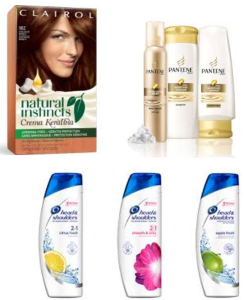 Head and shoulders, pantene, clairol coupons