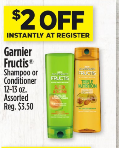 Free garnier fructis at dollar general