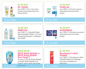 image regarding St.ives Printable Coupons named Clean Bic Soleil Razors, Boudreaux Butt Paste, Noxzema,Basically