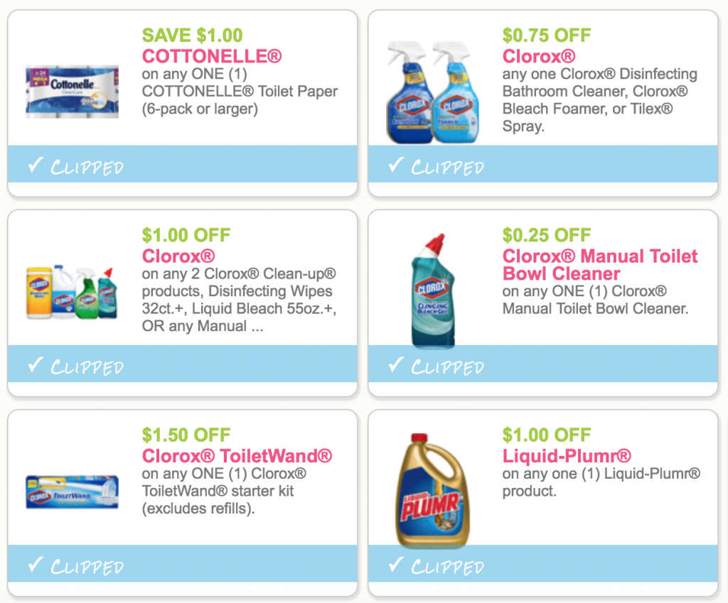 image relating to Cottonelle $1 Printable Coupon called Very hot Contemporary $1.00 Off Cottonelle, Clorox, Charmin, and Bounty