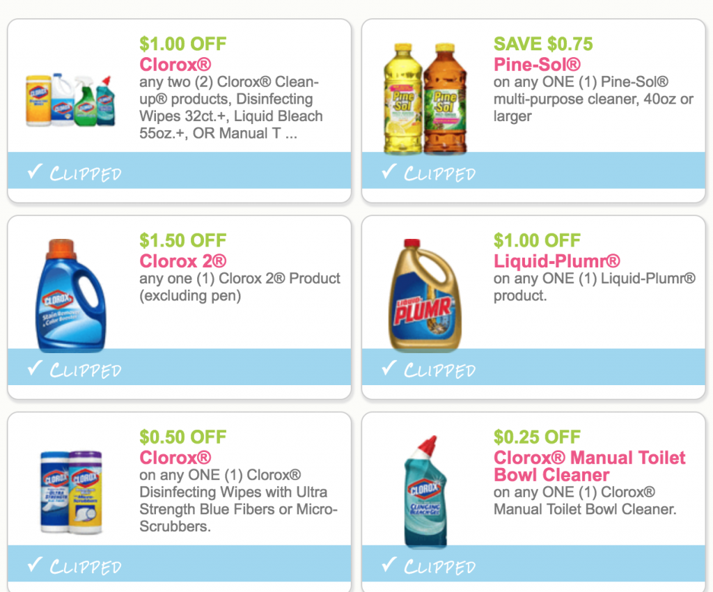 image about Clorox Printable Coupons known as Fresh new Substantial Charge OxiClean Laundry Detergent, Pine-Sol