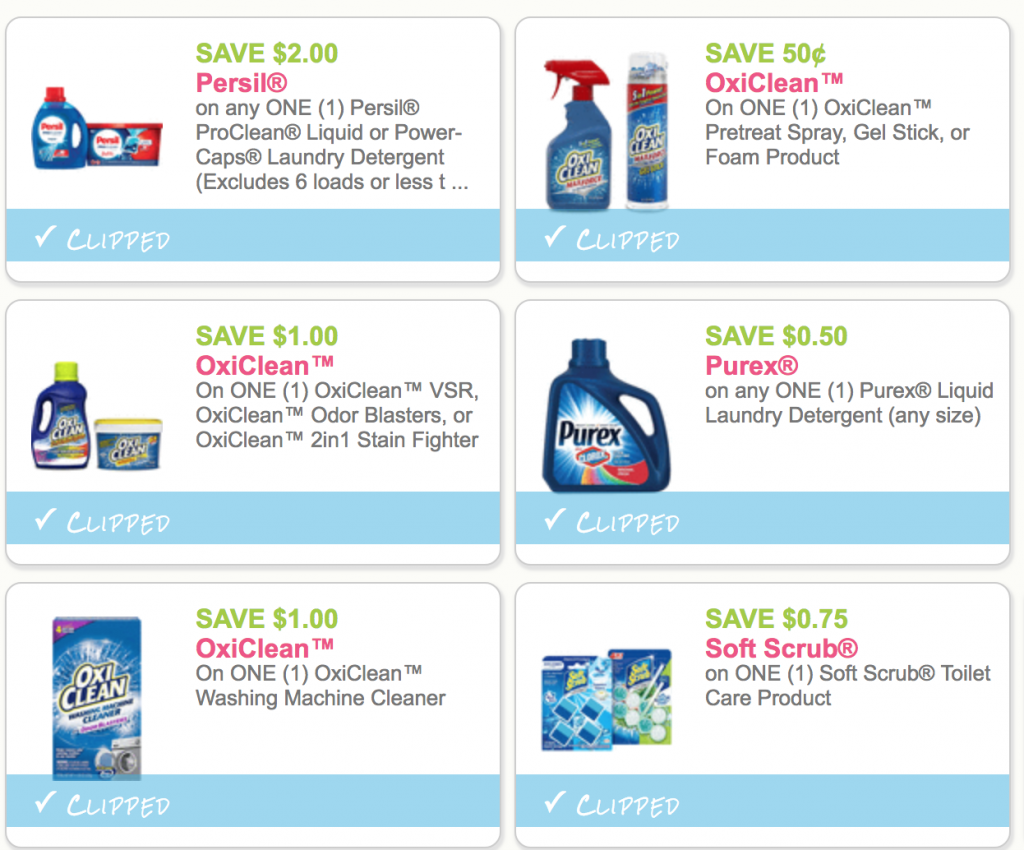 picture relating to Purex Coupons Printable titled Fresh Persil, Oxiclean, Purex Discount codes PRINT Already