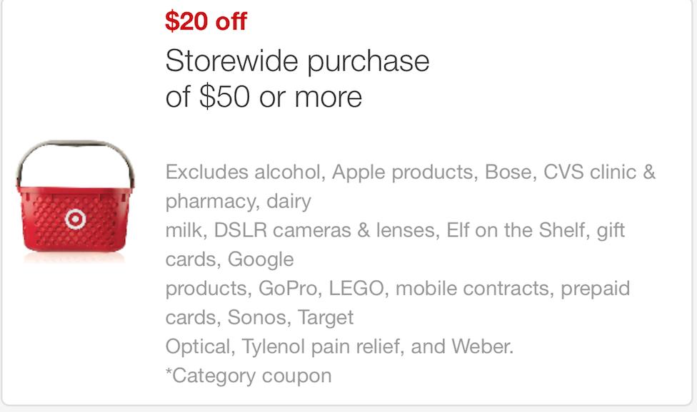 Target lego coupon